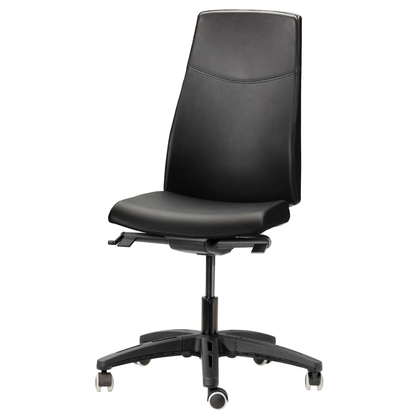 Black Swivel Chair Volmar Swivel Chair Mjuk Black Ikea