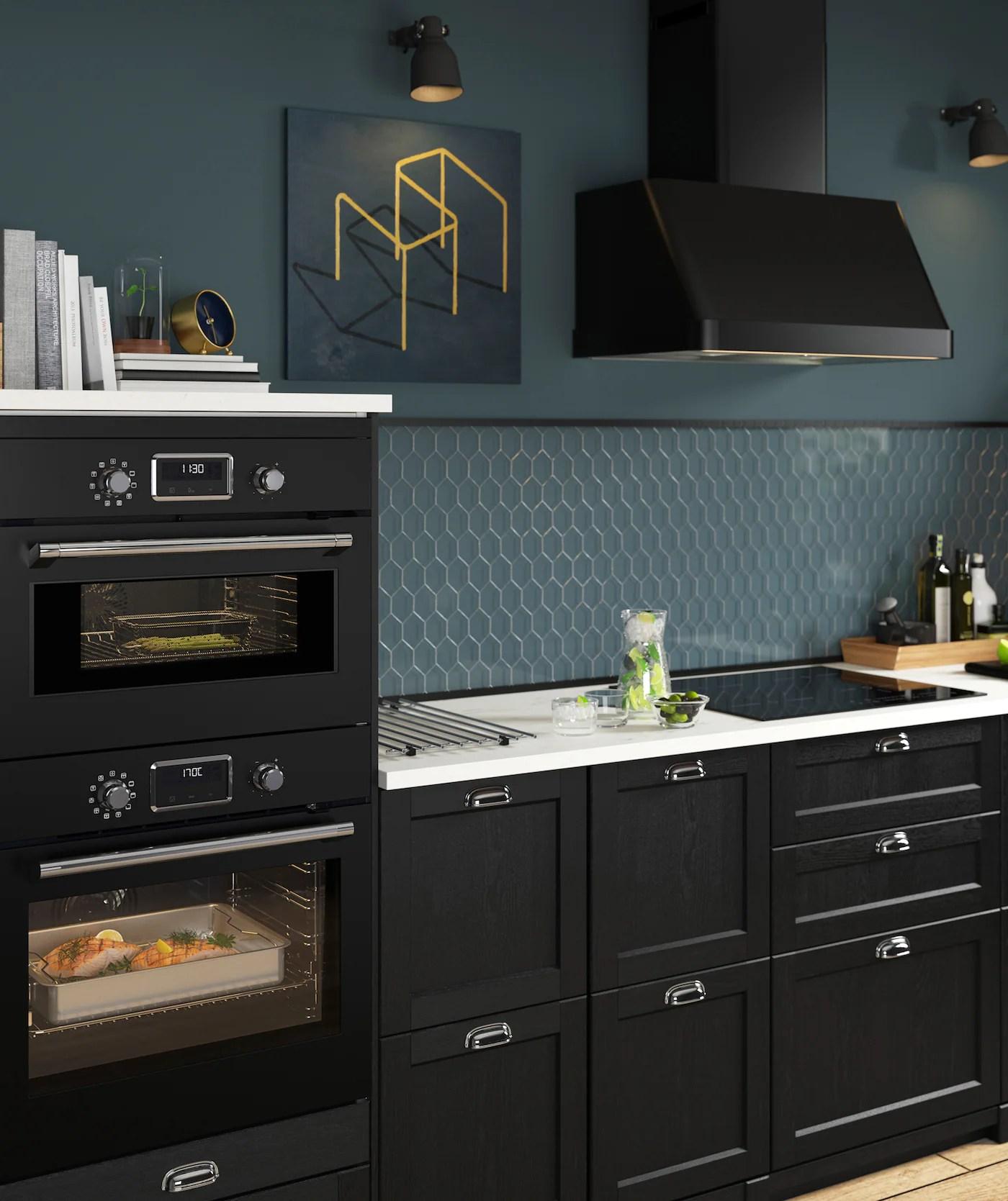 Küche Schubladenfront Entfernen | Ikea Küche Metod Voxtorp ...