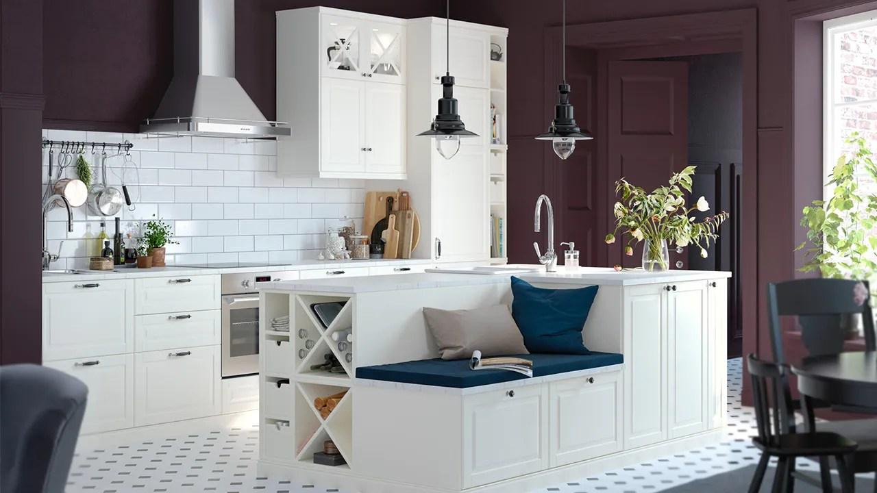 küche landhaus kücheninsel  häckermusterküche
