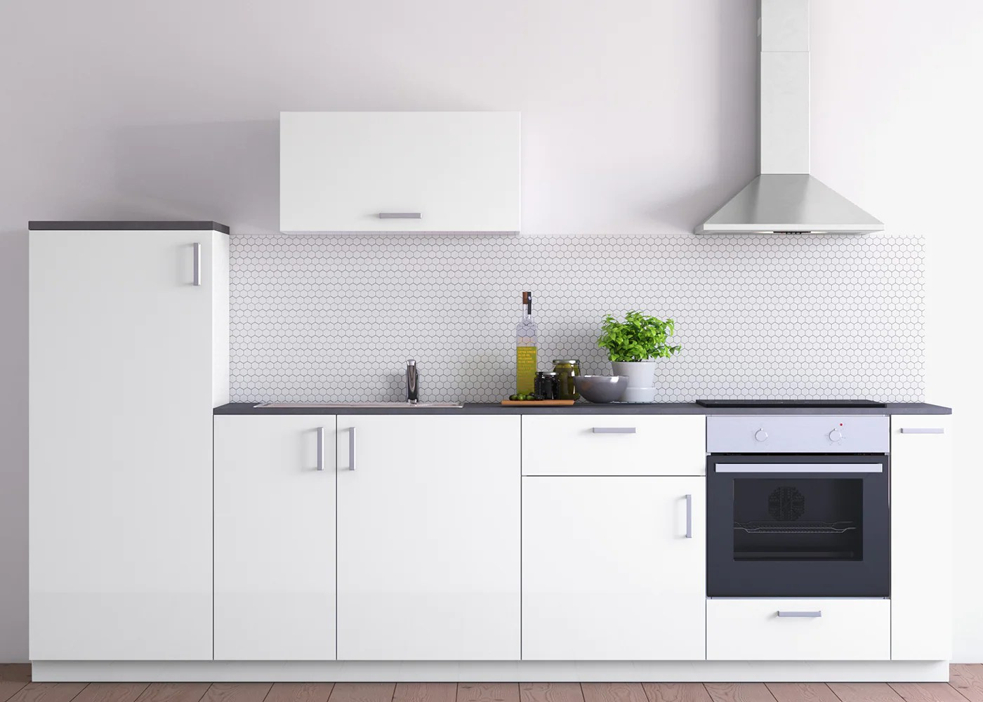 Ikea Kuche Veddinge Grau