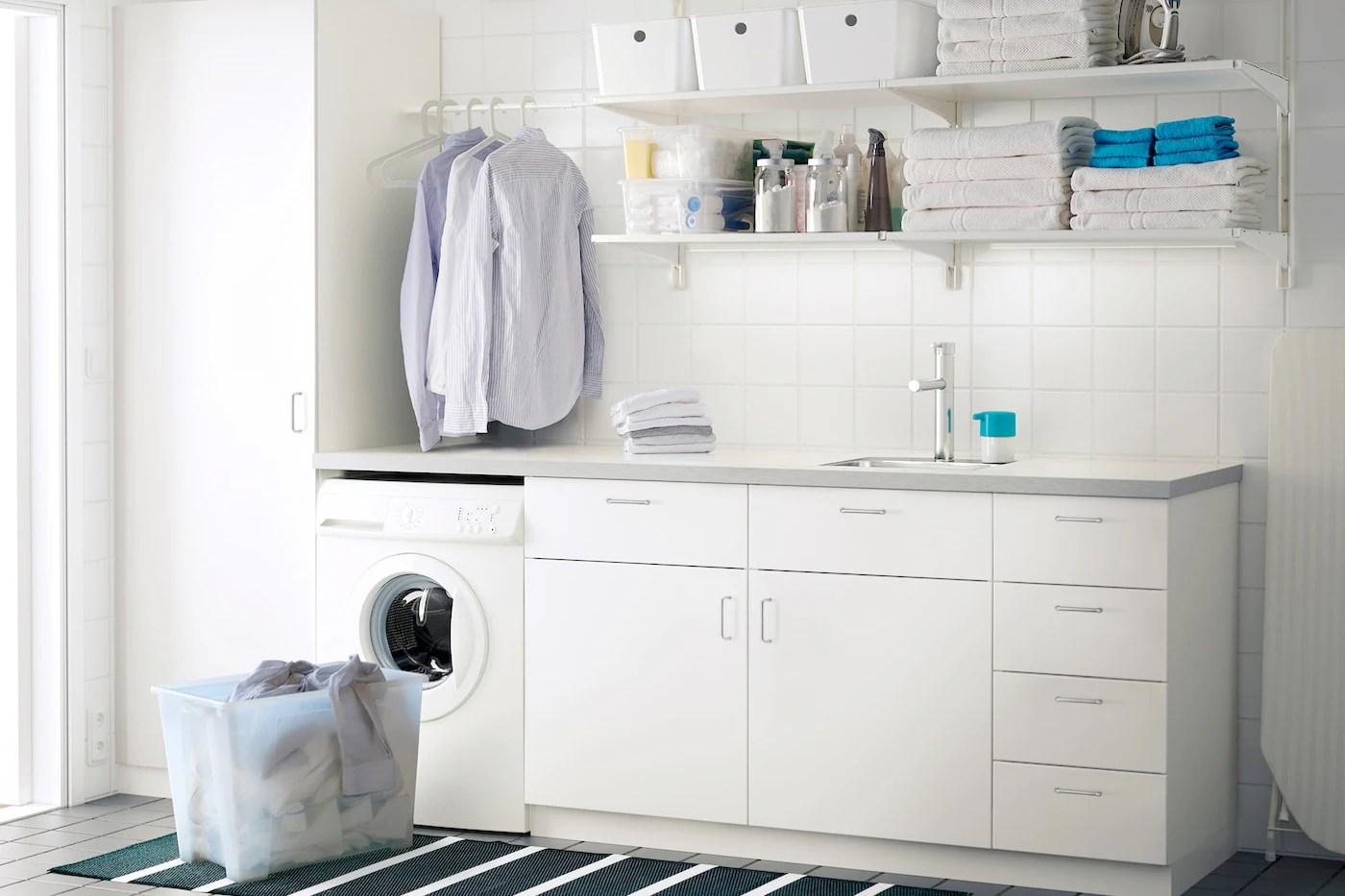 Küche Mit Waschmaschine Ikea   Die Besten 25+ Besenschrank ...
