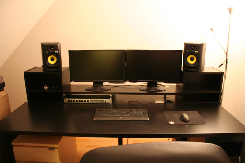 IKEA Music Production Desk
