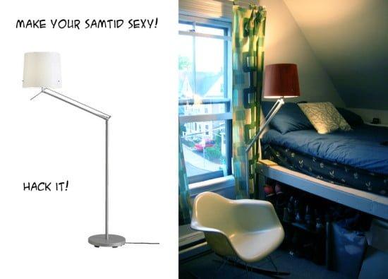 Sexy Samtid Bedside Lamp Ikea Hackers
