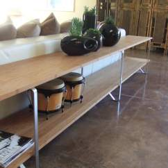 Sofa Tables Pinterest Best Quality Brands Table From Salvaged Ikea Legs Hackers