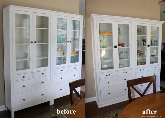 Turning IKEA Hemnes Into Built-Ins