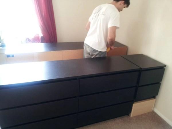 IKEA Hack Bed Frame