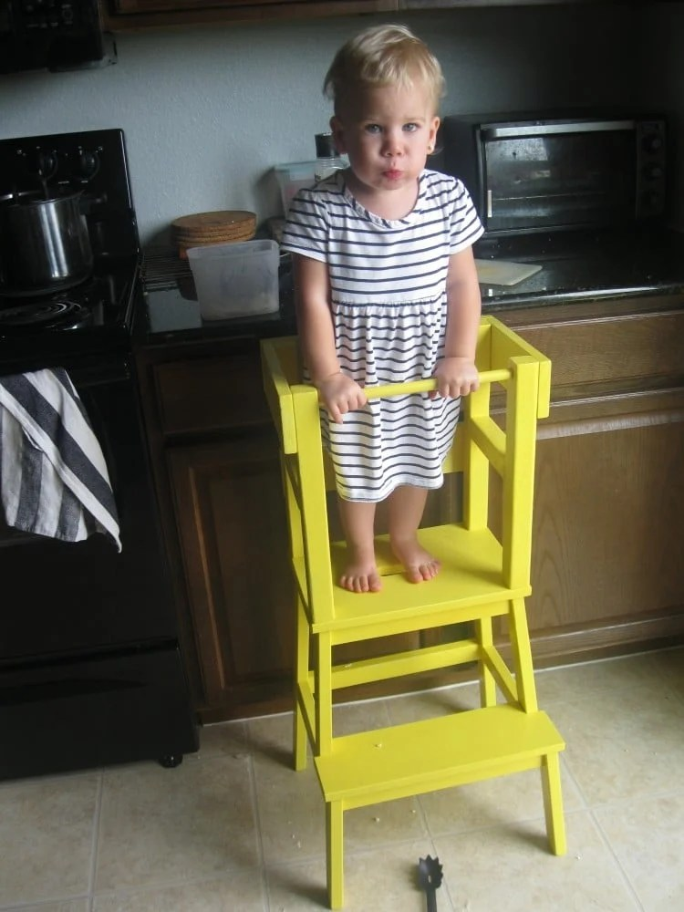 ikea kitchen step stool dinette set diy learning tower with bekvam hackers