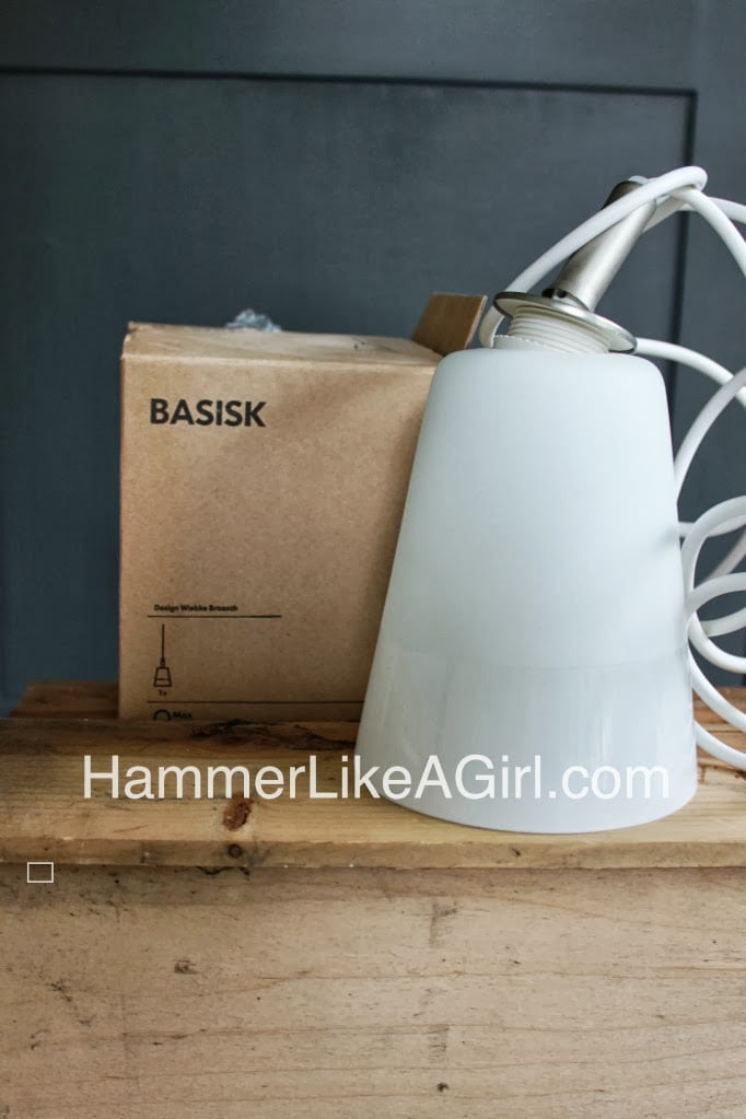 Mod Ify The Basisk Pendant Light Ikea Hackers