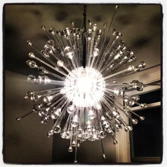 IKEA chandelier Stockholm into Sputnik hack