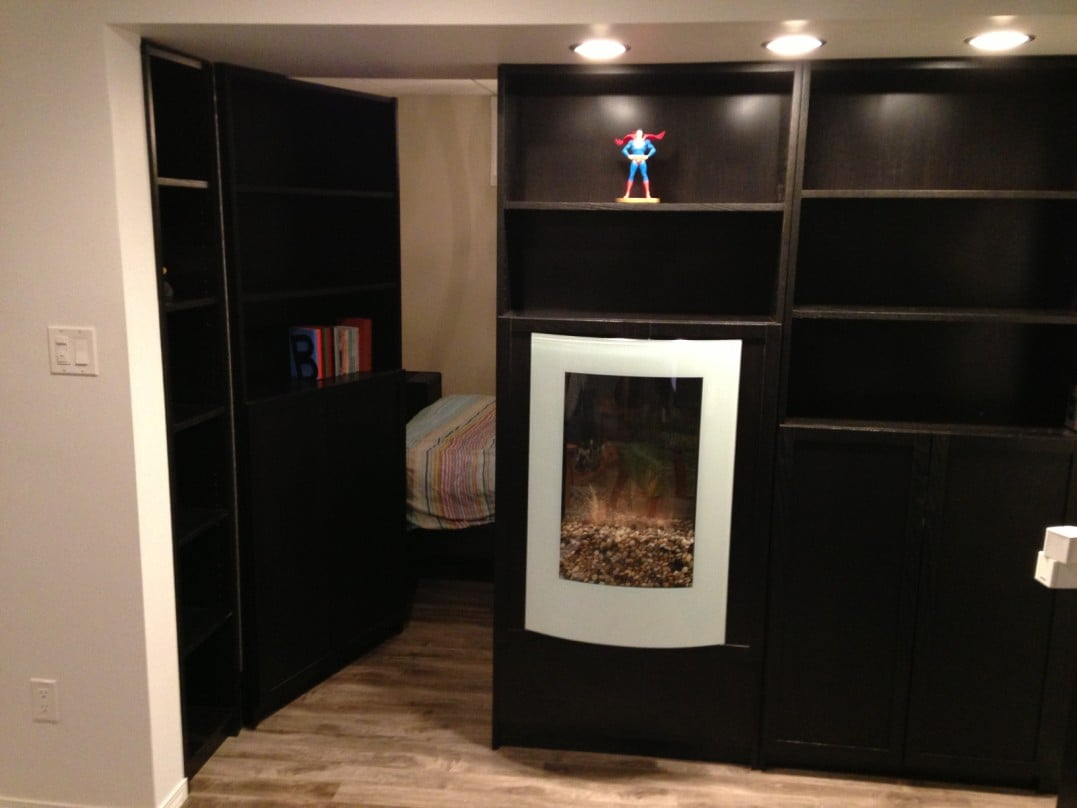Secret Bookcase Door Ikea Hackers