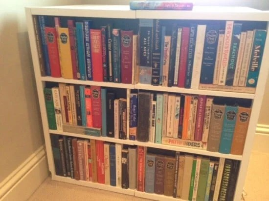 So I Came Up With This Fake Book Case Cabinet. If You Can Get Hold Of  Enough Books, Itu0027s Pretty Straightforward. Itu0027s Going To Be A Christmas  Present For ...