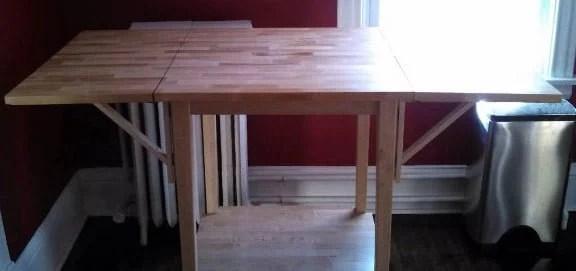 Expandable Bar Table  IKEA Hackers  IKEA Hackers