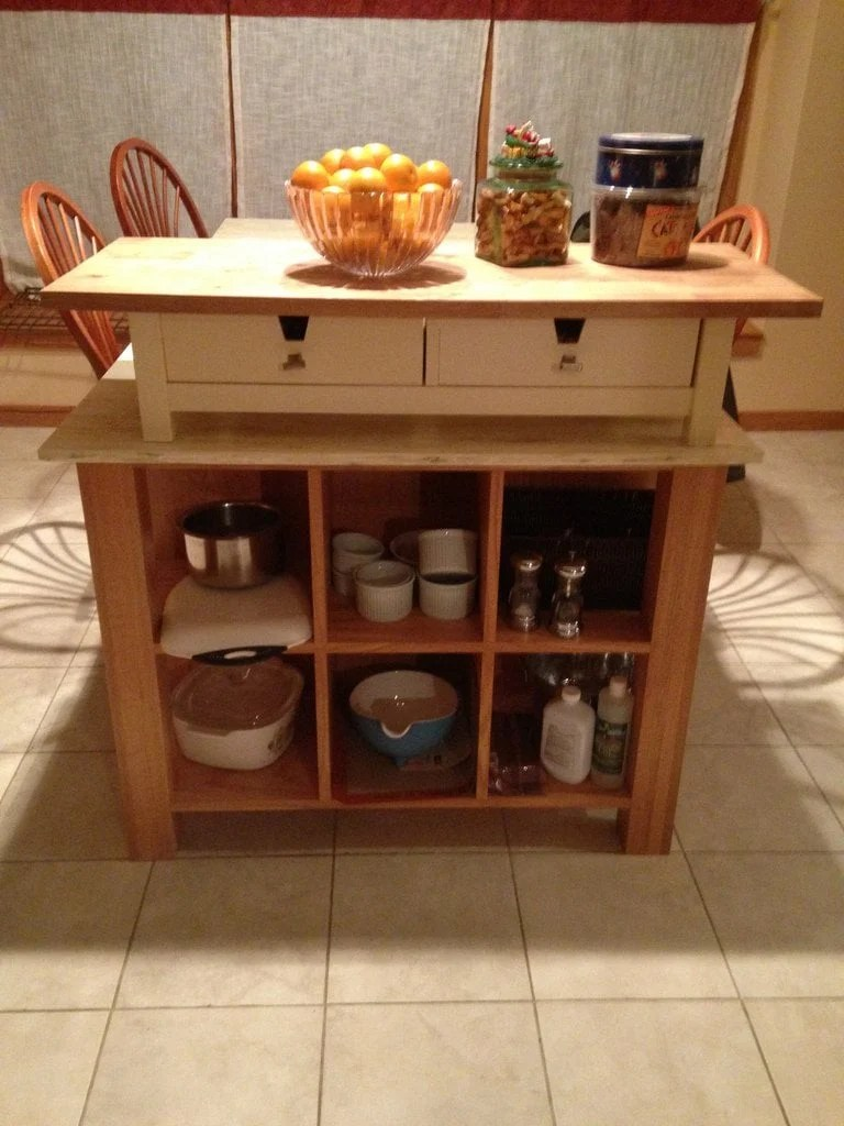 kitchen island table ikea table top kitchen island ikea hackers 19800