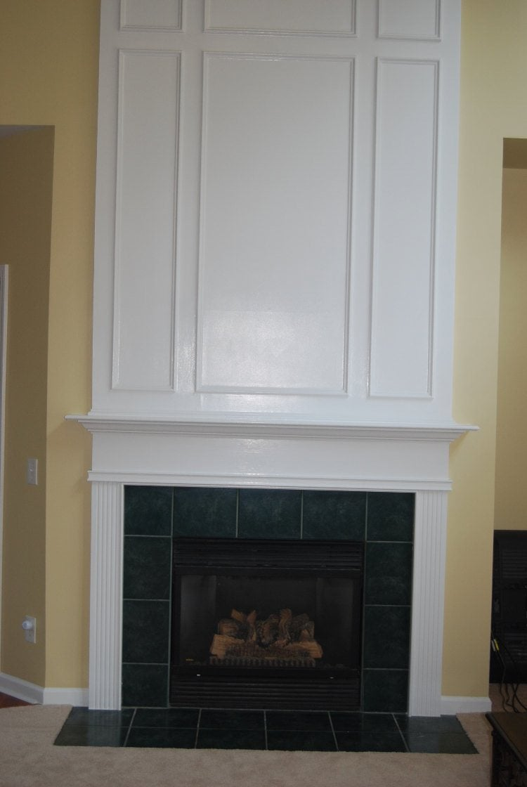 TOFTA Fireplace Surround IKEA Hackers IKEA Hackers