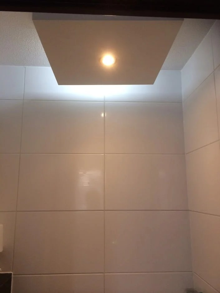 kitchen ceiling light fixture suites home depot ikea lack table led with bluetooth speaker in toilet ...