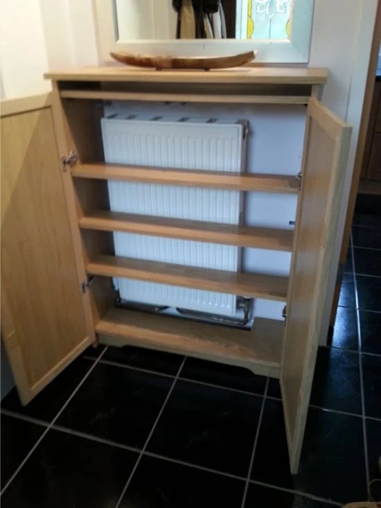 Radiator Cover From Billy Bookcase Ikea Hackers