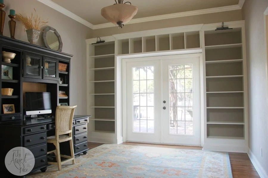 Diy Billy Bookcase Built Ins Ikea Hackers