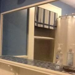 Home Depot Kitchen Storage Cabinets Custom Rugs Molger Mirror Hack - Ikea Hackers