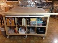 Craft / Sewing / Work Table Hack - IKEA Hackers - IKEA Hackers