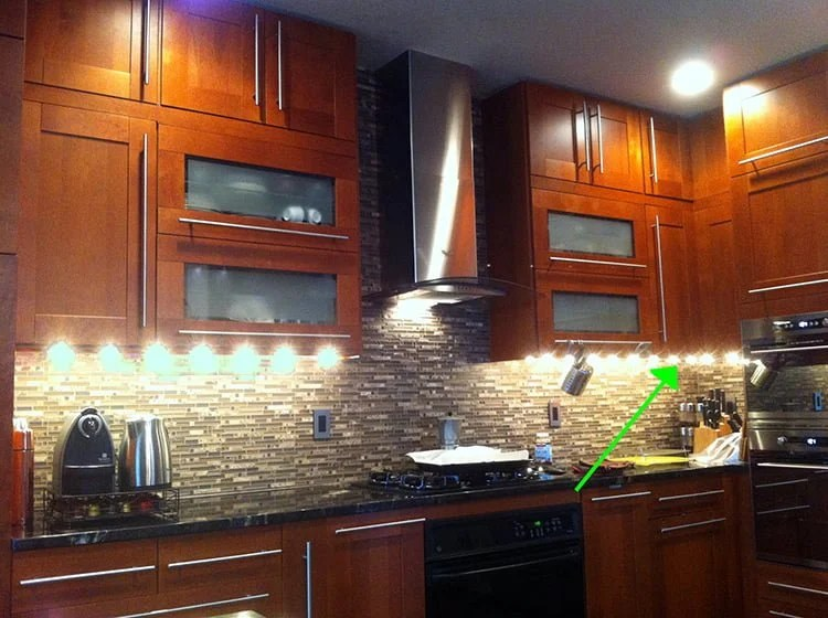 kitchen cabinet ikea curtains at target upper corner hackers adel medium brown hack