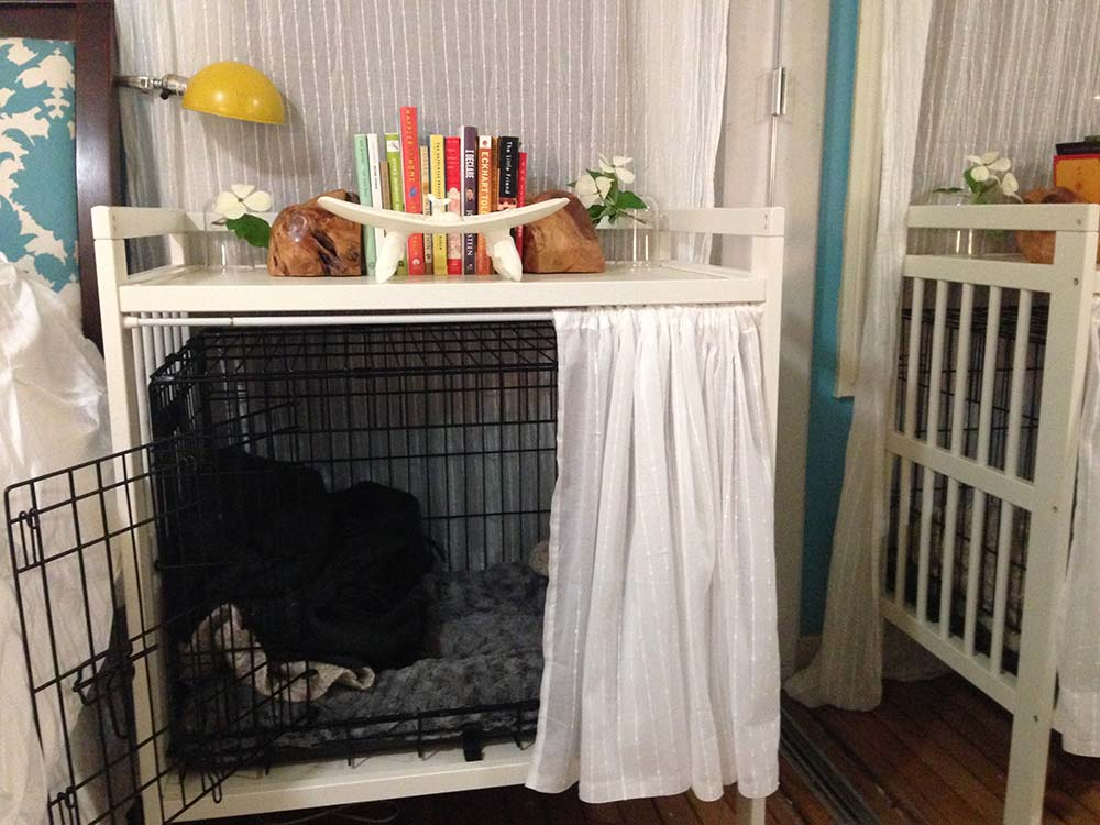 Dog Crate And Bedside Table Ikea Hackers