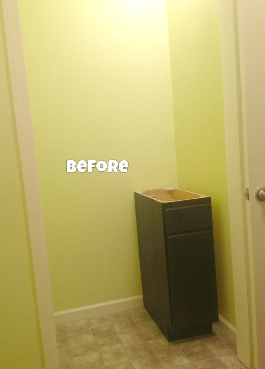 ikea ingolf chair revolving autocad block bad closet turns to good craft space in laundry room - hackers