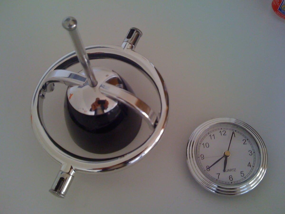Spot Light Clock Ikea Hackers