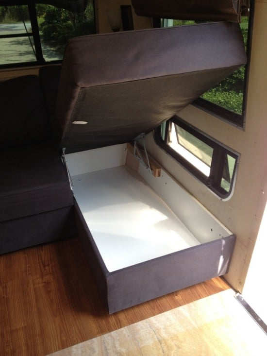 manstad corner sofa bed with storage good sleeper hack to fit avion travel trailer - ikea hackers