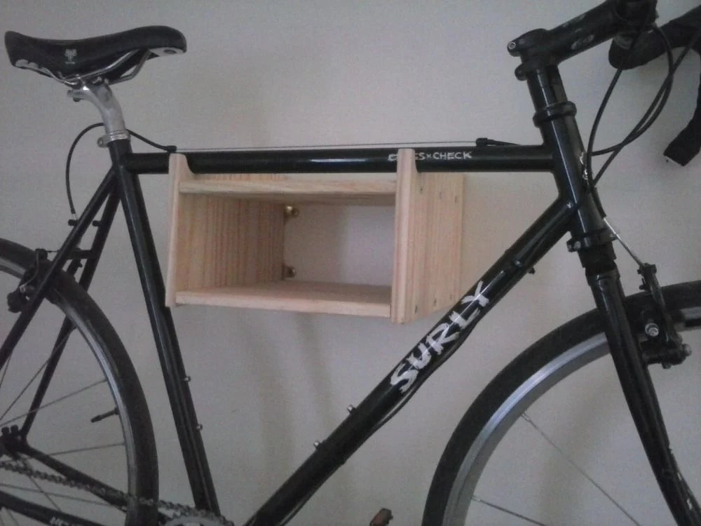 Luxury I also wanted somewhere to store bike items like gloves tools locks etc and these can be placed inside the box