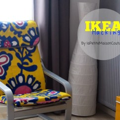 Poang Chairs Childs Rocking Chair Upgrade Ikea Hackers So This Is How I Upgraded My Simple Into A Lively Colorful One See More Pictures And Instructions Here