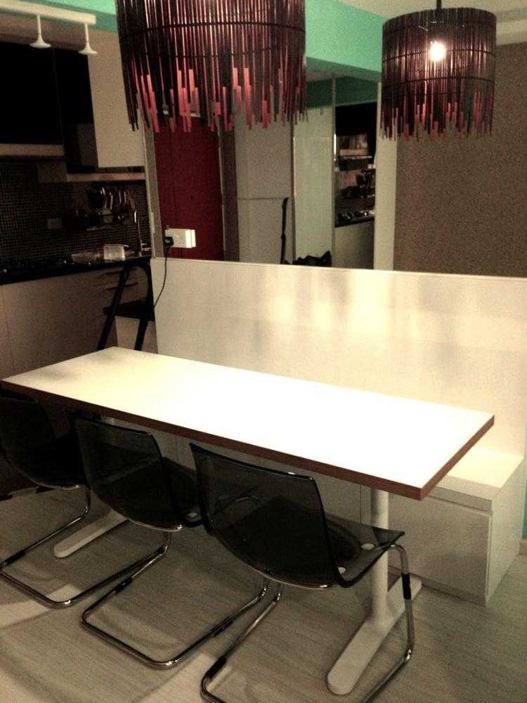Numerar Countertop Dining Table  IKEA Hackers  IKEA Hackers