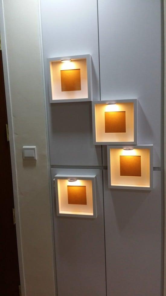 Ribba Frame Dioder Led Multi Use Lighting Decorative Night Lights Ikea Hackers