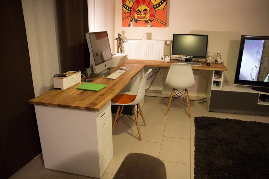 Alex Hammarp Home Office Ikea Hackers