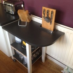 Ikea Kitchen Counter Hotels With Kitchens Bekvam Trolley As Extended Space Hackers Kitchen5a