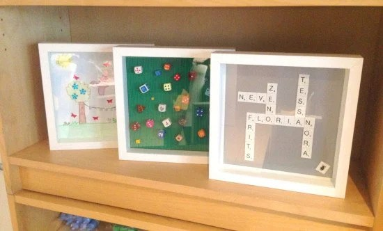 Personalised presents with IKEA Ribba frames
