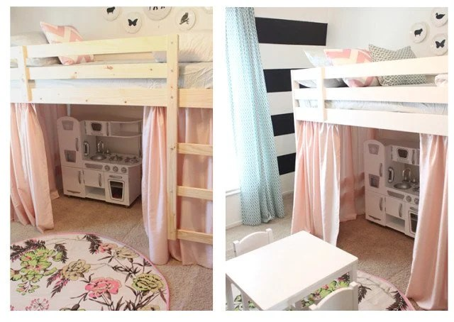 Cute MYDAL Bunk Bed upgrade IKEA Hackers