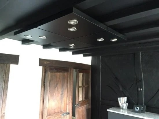 Lack Table As Kitchen Ceiling Lighting Ikea Hackers