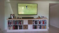 Built-in EXPEDIT entertainment center - IKEA Hackers ...