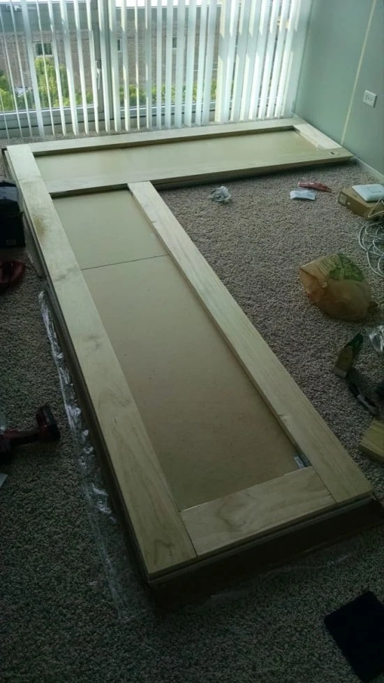 Reinforce with pine boards | IKEA Hackers