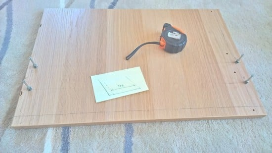 Hidden Coffee Table Hack_drawer_front_cut