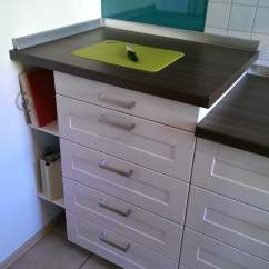 Ikea Kitchen Countertops How To Design A Island Elevate Metod Countertop Hackers Elevated