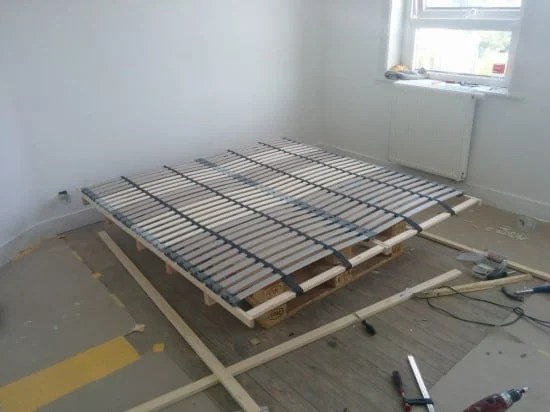 Build the bed bases
