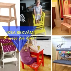 Ikea Jules Chair Toddler Plastic Chairs 5 Fun Ways To Use The Bekvam Step Stool For Kids