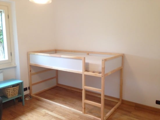 IKEA Kura bunk bed - before