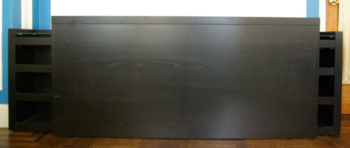 Malm Headboard Vika Alex Slim Desk