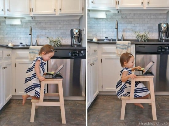 BEKVAM All In One Kids Table And Chair