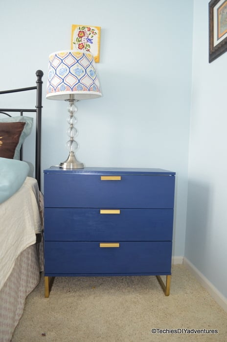Ikea Trysil Dresser Makeover Inspired By One Kings Lane