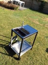 Mini outdoor sink from IKEA trolley and sink - IKEA ...