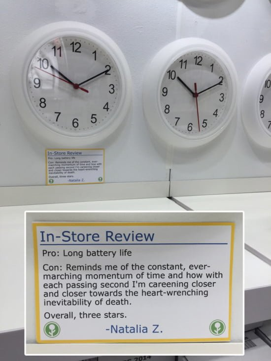 03 - Funny in-store IKEA reviews