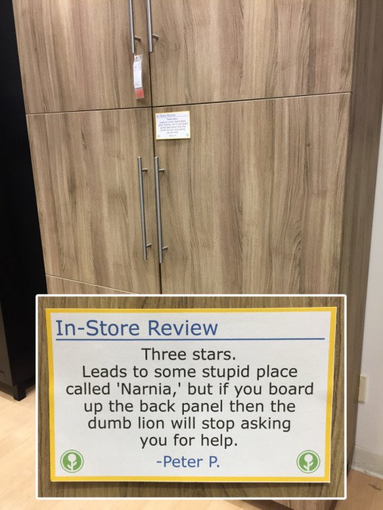 08 - Funny in-store IKEA reviews
